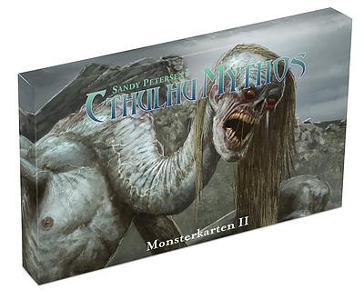 Einfach und sicher online bestellen: Cthulhu Mythos 5E - Monster II Kartenset in Österreich kaufen.