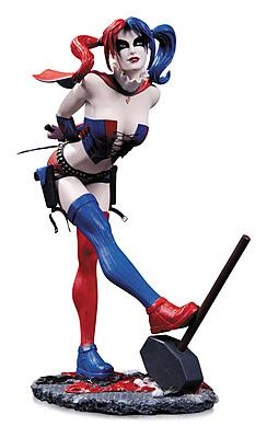 Einfach und sicher online bestellen: DC Comics Bombshells Statue Harley Quinn 22 cm in Österreich kaufen.