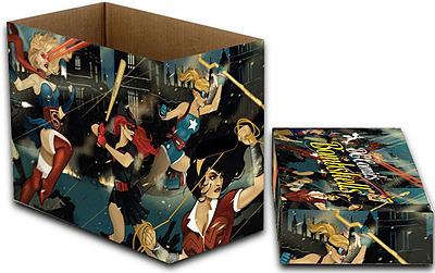 Einfach und sicher online bestellen: DC Comics Archivierungsboxen Bombshells in Österreich kaufen.