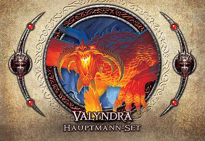 Einfach und sicher online bestellen: Descent 2. Edition Hauptmann-Set Valyndra in Österreich kaufen.