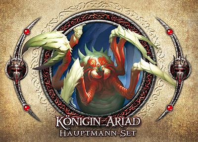 Einfach und sicher online bestellen: Descent 2. Edition Hauptmann-Set Königin Ariad in Österreich kaufen.