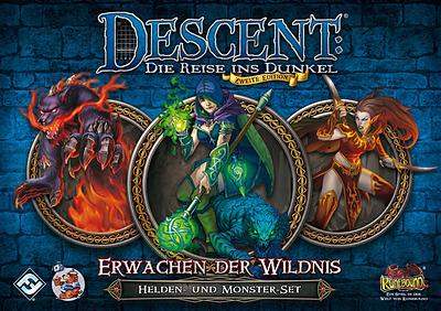 Einfach und sicher online bestellen: Descent: Erwachen der Wildnis Helden & Monsterset in Österreich kaufen.