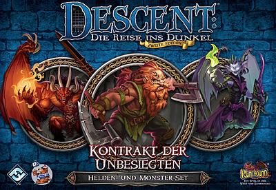 Einfach und sicher online bestellen: Descent 2. Edition: Kontrakt der Unbesiegten in Österreich kaufen.