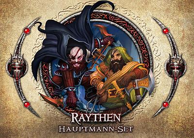 Einfach und sicher online bestellen: Descent 2. Edition Hauptmann-Set Raythen in Österreich kaufen.