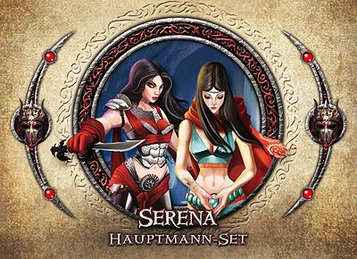 Einfach und sicher online bestellen: Descent 2. Edition Hauptmann-Set Serena in Österreich kaufen.