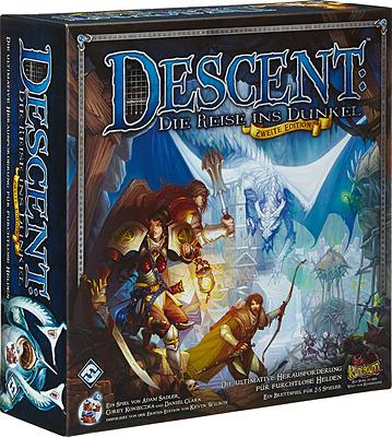 Einfach und sicher online bestellen: Descent: Die Reise ins Dunkel 2. Ed. Basisspiel in Österreich kaufen.