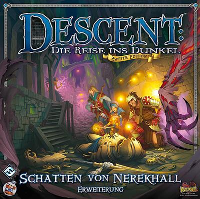 Einfach und sicher online bestellen: Descent: Schatten von Nerekhall Erweiterung in Österreich kaufen.