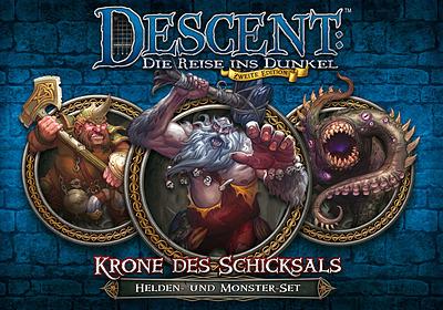 Einfach und sicher online bestellen: Descent: Krone des Schicksals Helden & Monsterset in Österreich kaufen.