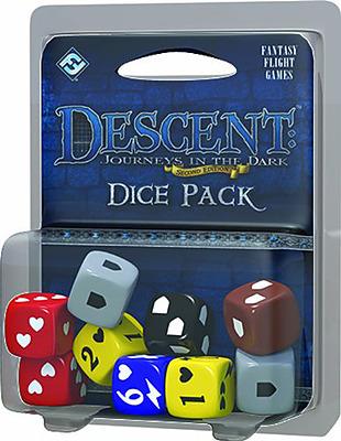 Einfach und sicher online bestellen: Descent 2. Edition Würfelset in Österreich kaufen.
