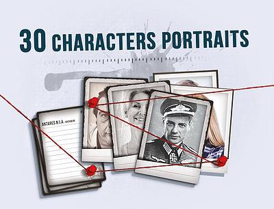 Einfach und sicher online bestellen: Detective 30 Character Portraits in Österreich kaufen.