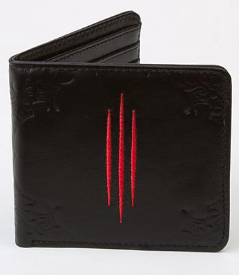 Einfach und sicher online bestellen: Diablo 3 Leder-Geldbeutel Logo in Österreich kaufen.