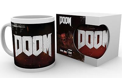 Einfach und sicher online bestellen: DOOM Tasse Logo in Österreich kaufen.