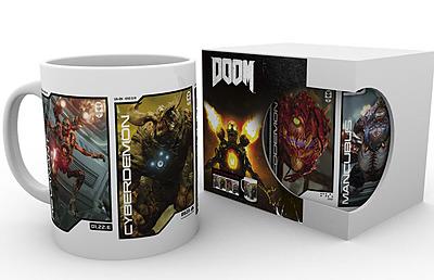 Einfach und sicher online bestellen: DOOM Tasse Dämonen in Österreich kaufen.