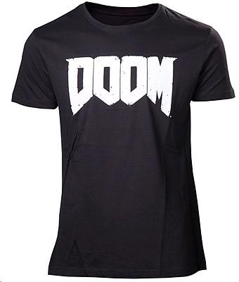 Einfach und sicher online bestellen: Doom T-Shirt New Logo XL in Österreich kaufen.