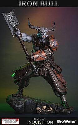 Einfach und sicher online bestellen: Dragon Age 3: Inquisition Statue Iron Bull 1/4 in Österreich kaufen.