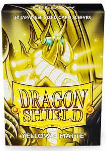 Einfach und sicher online bestellen: Dragon Shield Small Japanese Matte Yellow 11114 in Österreich kaufen.