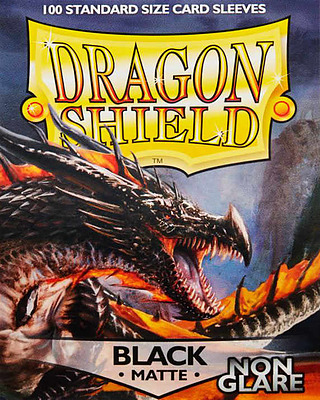 Einfach und sicher online bestellen: Dragon Shield Matte Non Glare Black Amina 11802 in Österreich kaufen.