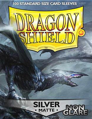 Einfach und sicher online bestellen: Dragon Shield Matte Non Glare Silver 11808 in Österreich kaufen.