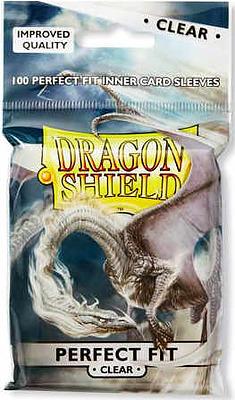 Einfach und sicher online bestellen: Dragon Shield Perfect Fit Sleeves Clear 13001 in Österreich kaufen.