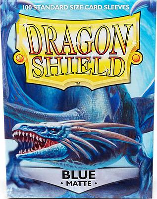 Einfach und sicher online bestellen: Dragon Shield Matte Blue 11003 in Österreich kaufen.