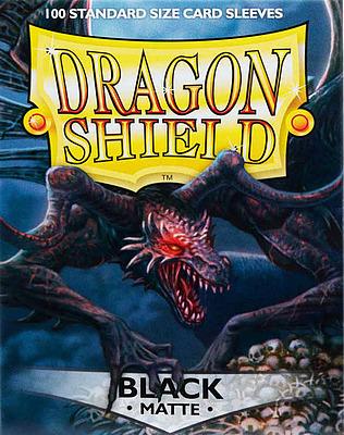 Einfach und sicher online bestellen: Dragon Shield Matte Black 11002 in Österreich kaufen.