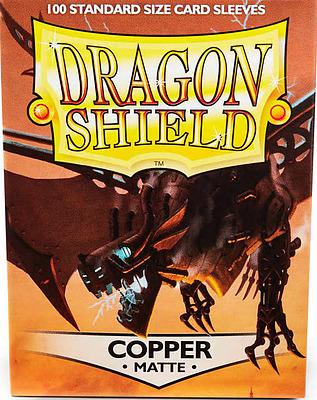 Einfach und sicher online bestellen: Dragon Shield Matte Copper 11016 in Österreich kaufen.