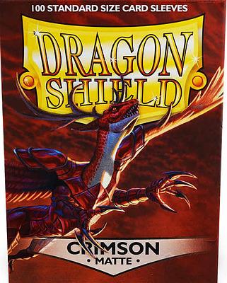 Einfach und sicher online bestellen: Dragon Shield Matte Crimson 11021 in Österreich kaufen.