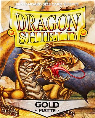 Einfach und sicher online bestellen: Dragon Shield Matte Gold 11006 in Österreich kaufen.