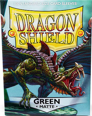 Einfach und sicher online bestellen: Dragon Shield Matte Green 11004 in Österreich kaufen.