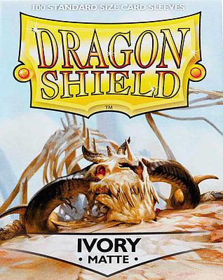 Einfach und sicher online bestellen: Dragon Shield Matte Ivory 11017 in Österreich kaufen.
