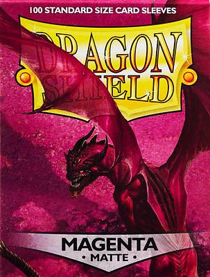 Einfach und sicher online bestellen: Dragon Shield Matte Magenta 11026 in Österreich kaufen.