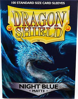 Einfach und sicher online bestellen: Dragon Shield Matte Night Blue 11042 in Österreich kaufen.
