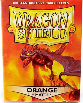 Einfach und sicher online bestellen: Dragon Shield Matte Orange 11013 in Österreich kaufen.