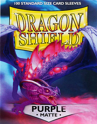 Einfach und sicher online bestellen: Dragon Shield Matte Purple 11009 in Österreich kaufen.