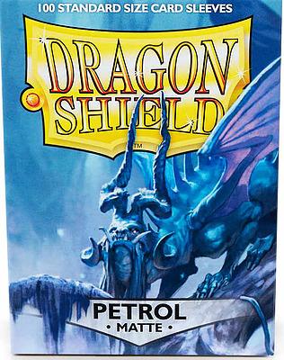 Einfach und sicher online bestellen: Dragon Shield Matte Petrol 11020 in Österreich kaufen.