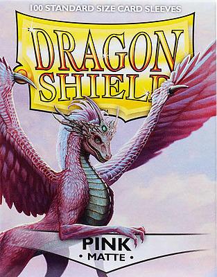 Einfach und sicher online bestellen: Dragon Shield Matte Pink 11012 in Österreich kaufen.