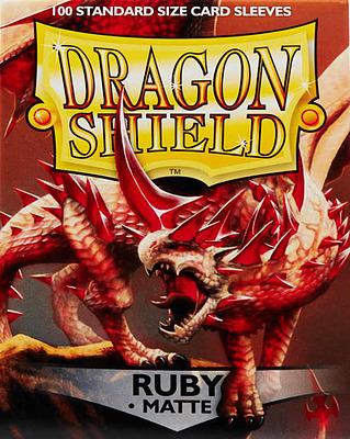 Einfach und sicher online bestellen: Dragon Shield Matte Ruby 11037 in Österreich kaufen.