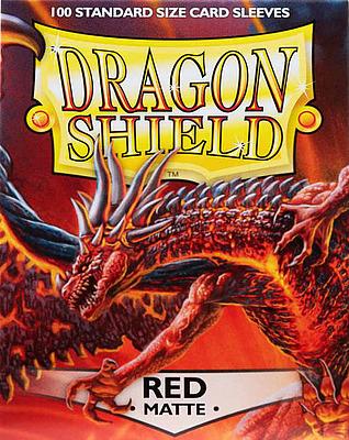 Einfach und sicher online bestellen: Dragon Shield Matte Red 11007 in Österreich kaufen.