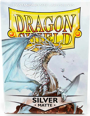Einfach und sicher online bestellen: Dragon Shield Matte Silver 11008 in Österreich kaufen.