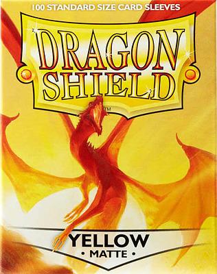 Einfach und sicher online bestellen: Dragon Shield Matte Yellow 11014 in Österreich kaufen.
