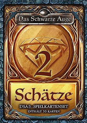 Einfach und sicher online bestellen: DSA5: Spielkartenset Schätze & Kostbarkeiten 2 in Österreich kaufen.