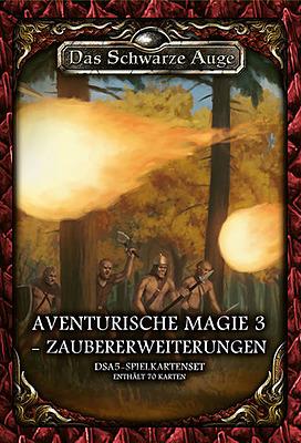 Einfach und sicher online bestellen: DSA5: Spielkartenset Magie 3 Zaubererweiterung in Österreich kaufen.