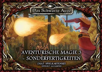 Einfach und sicher online bestellen: DSA5: Spielkartenset Magie 3 Sonderfertigkeiten in Österreich kaufen.