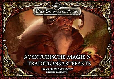 Einfach und sicher online bestellen: DSA5: Spielkartenset Magie 3 Traditionsartefakte in Österreich kaufen.