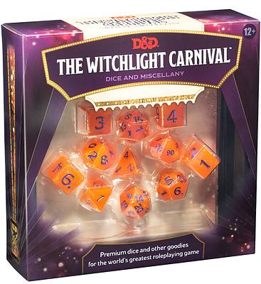Einfach und sicher online bestellen: D&D Witchlight Carnival Dice Set in Österreich kaufen.