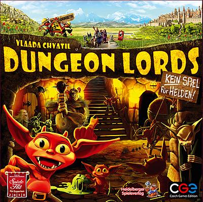 Einfach und sicher online bestellen: Dungeon Lords in Österreich kaufen.