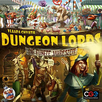 Einfach und sicher online bestellen: Dungeon Lords: Die Fünfte Jahreszeit Erweiterung in Österreich kaufen.