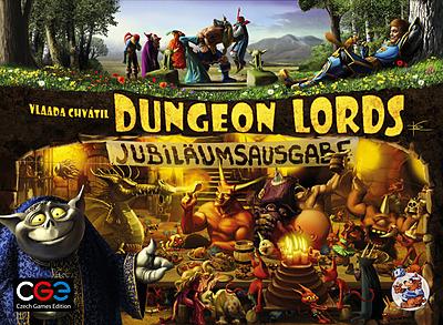 Einfach und sicher online bestellen: Dungeon Lords Jubiläumsausgabe in Österreich kaufen.