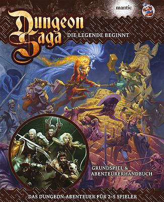 Einfach und sicher online bestellen: Dungeon Saga - Deluxe inkl. Zorn der Blutkrähen in Österreich kaufen.