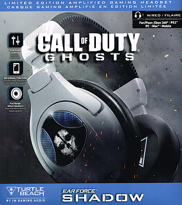 Einfach und sicher online bestellen: Turtle Beach Ear Force Shadow Gaming Headset in Österreich kaufen.